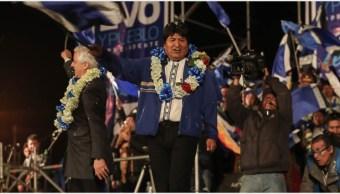 Imagen: Evo Morales buscará seguir en el poder en próximas elecciones, 19 de octubre de 2019 (EFE)