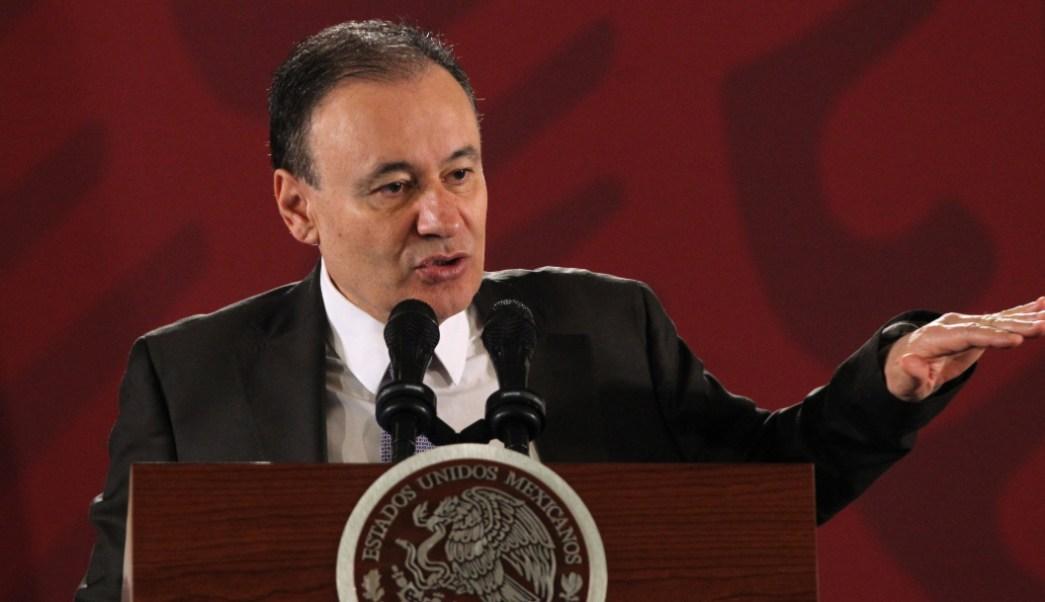 Alfonso Durazo, secretario de Seguridad Pública y Protección Ciudadana