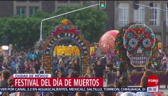 Foto: Festival Día Muertos Cdmx 2019 15 Octubre 2019