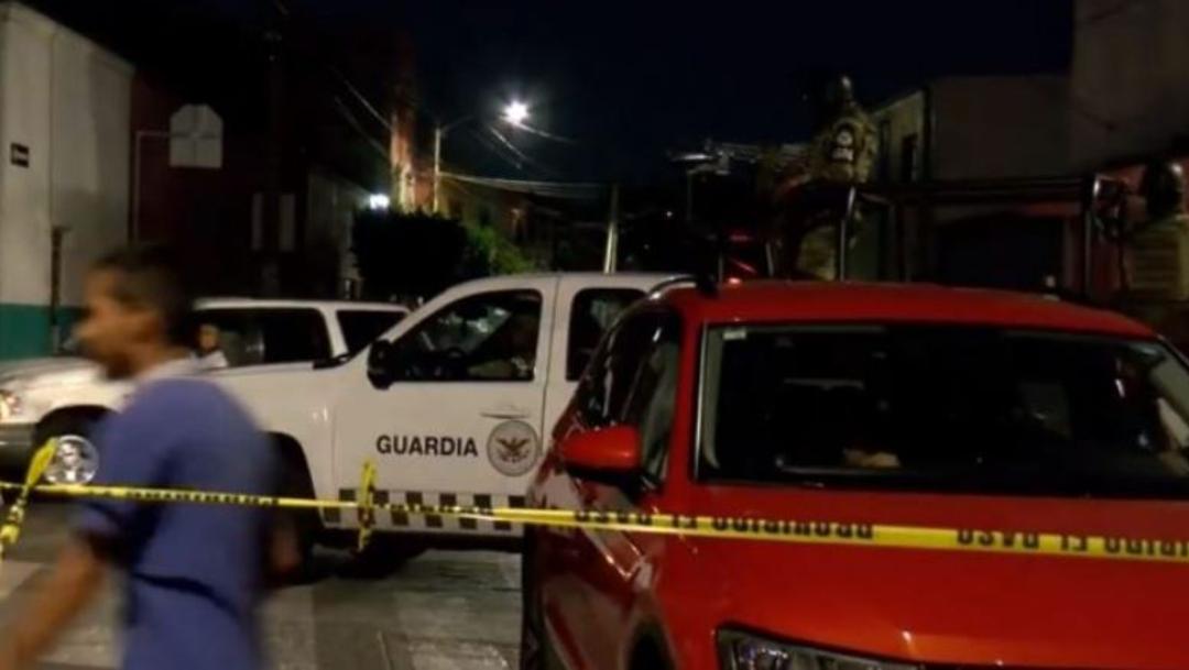 Foto: El encargado de una barbería y su cliente fueron asesinados en su local ubicado en el municipio de Tlaquepaque, Jalisco, 10 octubre 2019