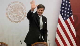 Foto: Christopher Landau, embajador de Estados Unidos en México. Cuartoscuro