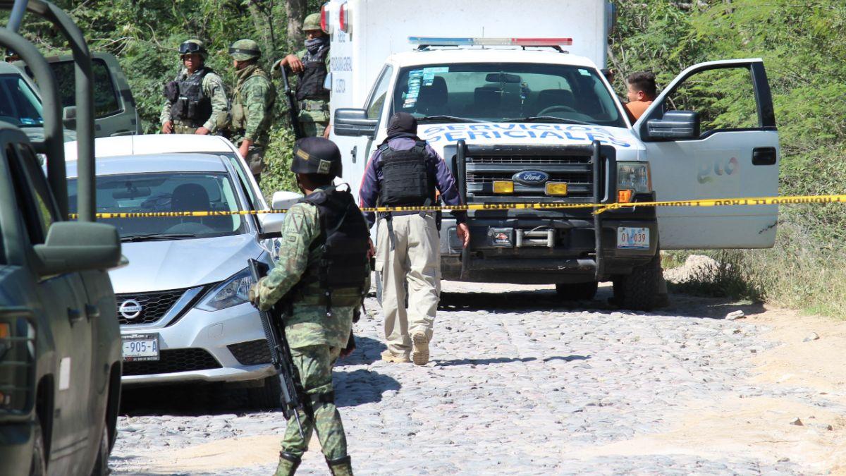 Foto: Una balacera deja 6 muertos en Celaya, Guanajuato, México. Cuartoscuro/Archivo