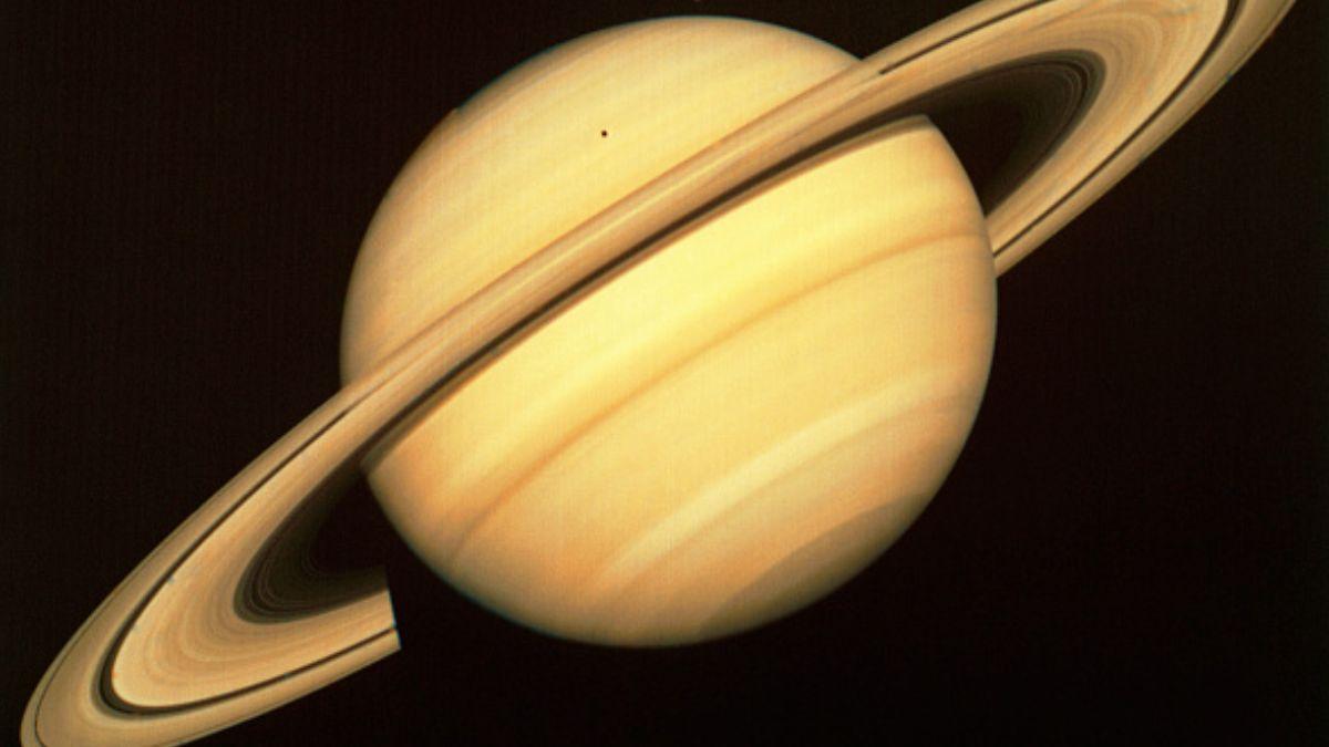 Foto: Imagen del planeta Saturno. Getty Images/Archivo