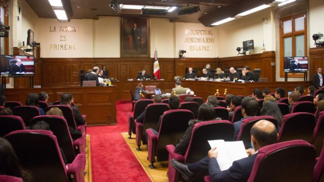 Foto: Sesión en la Suprema Corte de Justicia de la Nación (SCJN). Cuartoscuro
