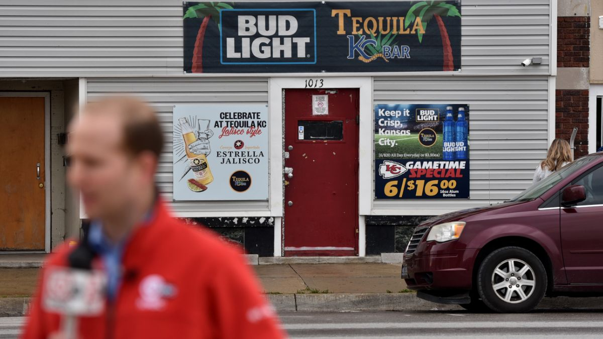 Foto: Entrada del Tequila KC Bar en Kansas City, Estados Unidos. Getty Images