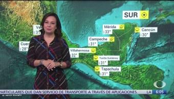 Frente frío 3 ingresa a México; ocasionará descenso de temperatura