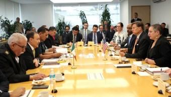 Reforzarán seguridad antidrogas en frontera México- Estados Unidos