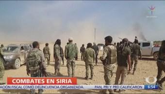 Fuerzas kurdas resisten en Siria