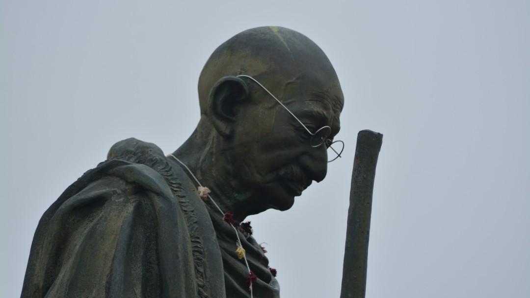 Foto: Las cenizas de Mahatma Gandhi fueron enviados y colocados en varios monumentos por todo el país, el 4 de octubre de 2019 (Pixabay)