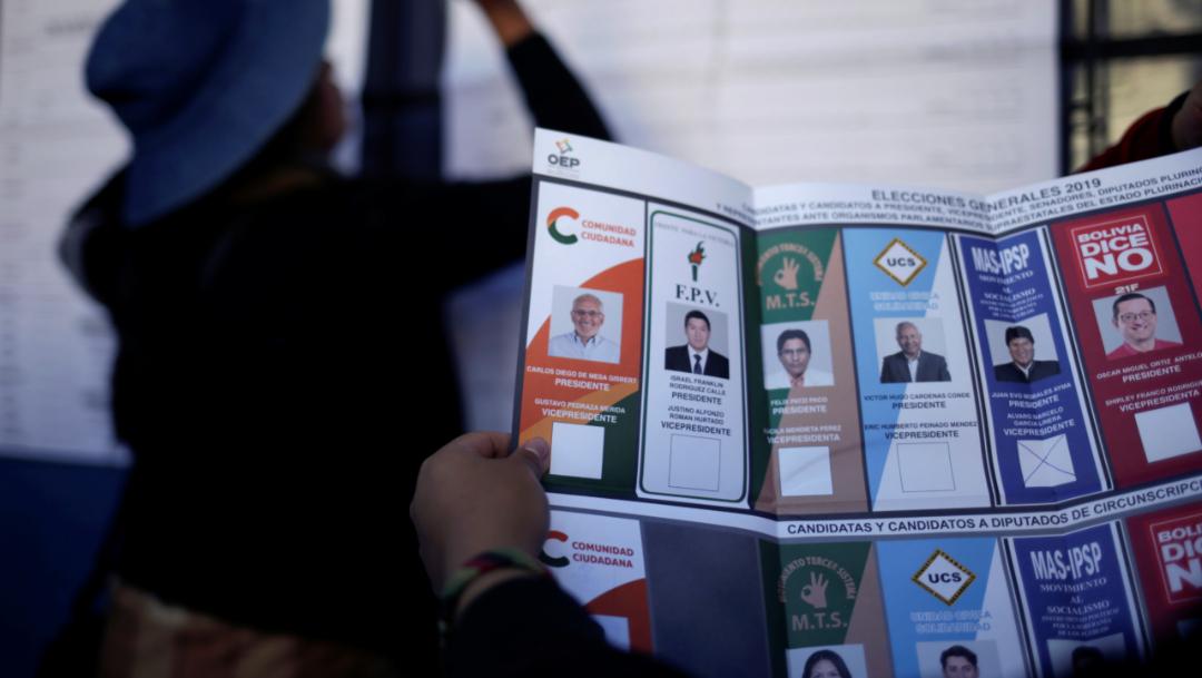 Foto: Morales lleva en el poder desde 2006 y siempre había ganado con mayoría en primera vuelta en tres elecciones consecutivas, 21 de octubre de 2019 (Reuters)