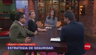 Foto: Gobierno Federal Reiteran Estrategia Culiacán Sinaloa 30 Octubre 2019