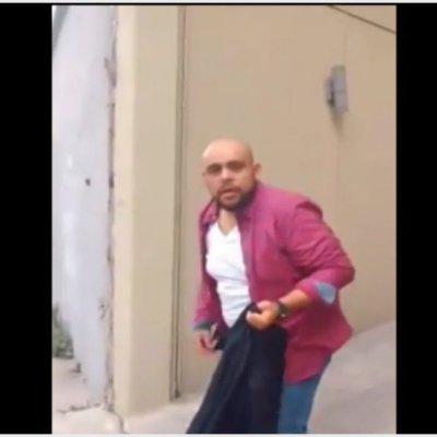 VIDEO: Hombre, en aparente estado de ebriedad, agrede a mujer en CDMX