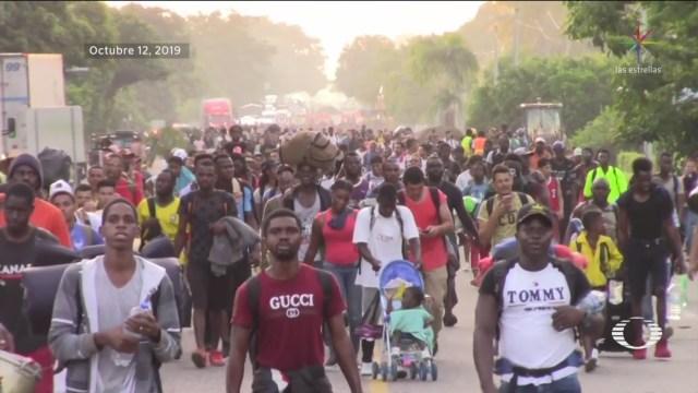 guardia nacional frena caravana migrante