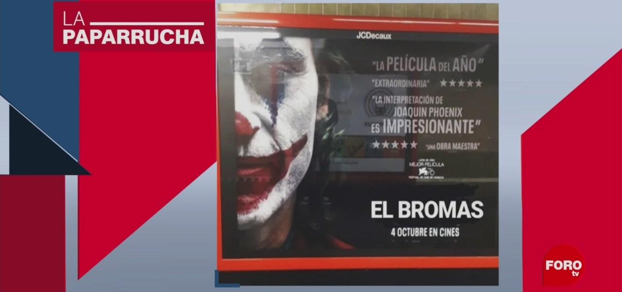 Foto: Guasón El Bromas Noticias Falsas 9 Octubre 2019