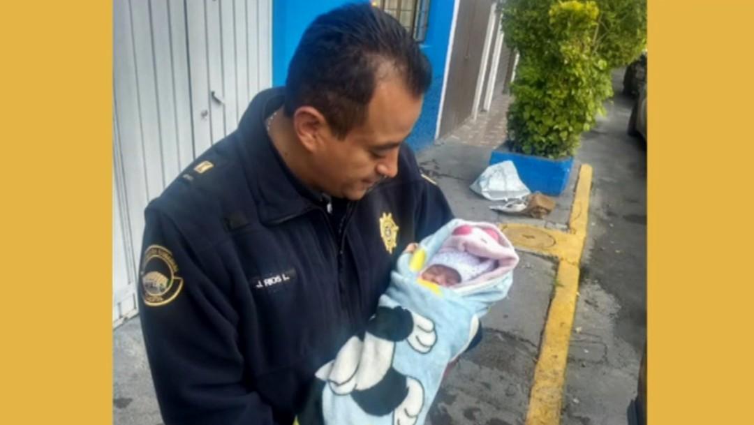 Foto: Hallan a bebé recién nacida abandonada en Iztapalapa,25 de octubre de 2019,Ciudad de México