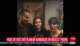 Hijos de José José difunden video en Twitter