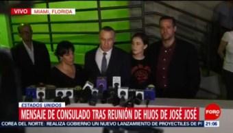 Foto: Hijos José José Unen Realizar Homenajes 1 Octubre 2019