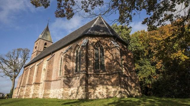 fOTO: Iglesia en el pueblo de Ruinerwold, Holanda, 17 octubre 2019