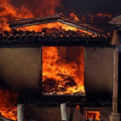 Incendios en Tijuana consumen al menos 60 viviendas