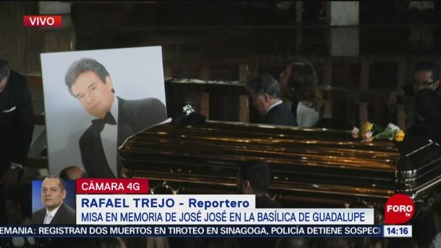 FOTO: Inicia Misa Memoria José José Basílica De Guadalupe,