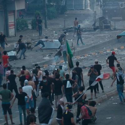 Cuatro manifestantes y un policía muertos en protestas en Irak