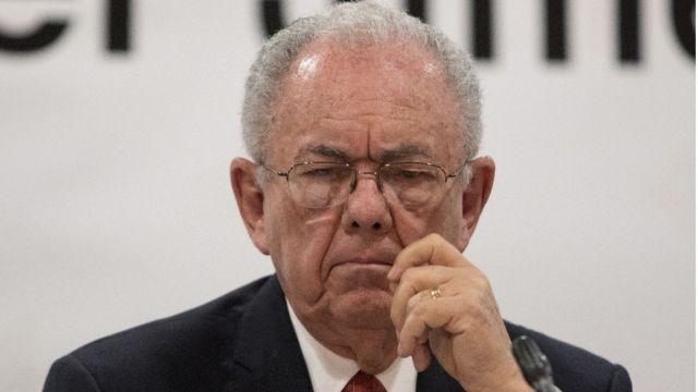 Foto: Javier Jiménez Espriú, secretario de Comunicaciones y Transportes. (Moisés Pablo / Cuartoscuro.com)