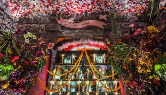 FOTO: Día de Muertos: Jean-Paul Gaultier colabora en ofrenda del museo Anahuacalli