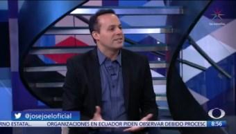 José Joel platica con Paola Rojas del homenaje a José José en Zócalo CDMX