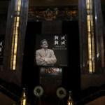FOTO José José recibe homenaje póstumo en Bellas Artes (AP)