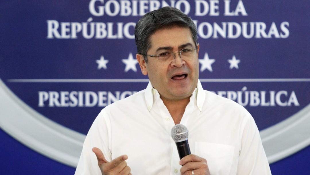 Foto: Juan Orlando Hernández, 3 de octubre de 2019, Honduras