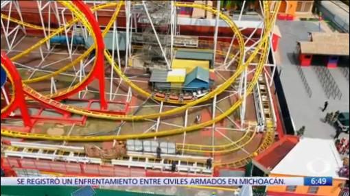 Juegos de La Feria de Chapultepec no recibieron mantenimiento adecuado
