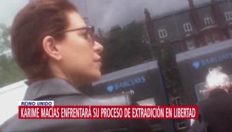 Foto: Karime Macías Enfrentará Proceso Extradición Libertad 29 Octubre 2019