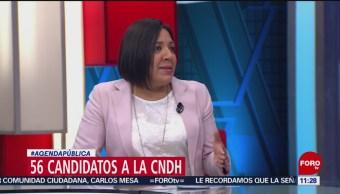 FOTO: La elección de la CNDH, 27 octubre 2019