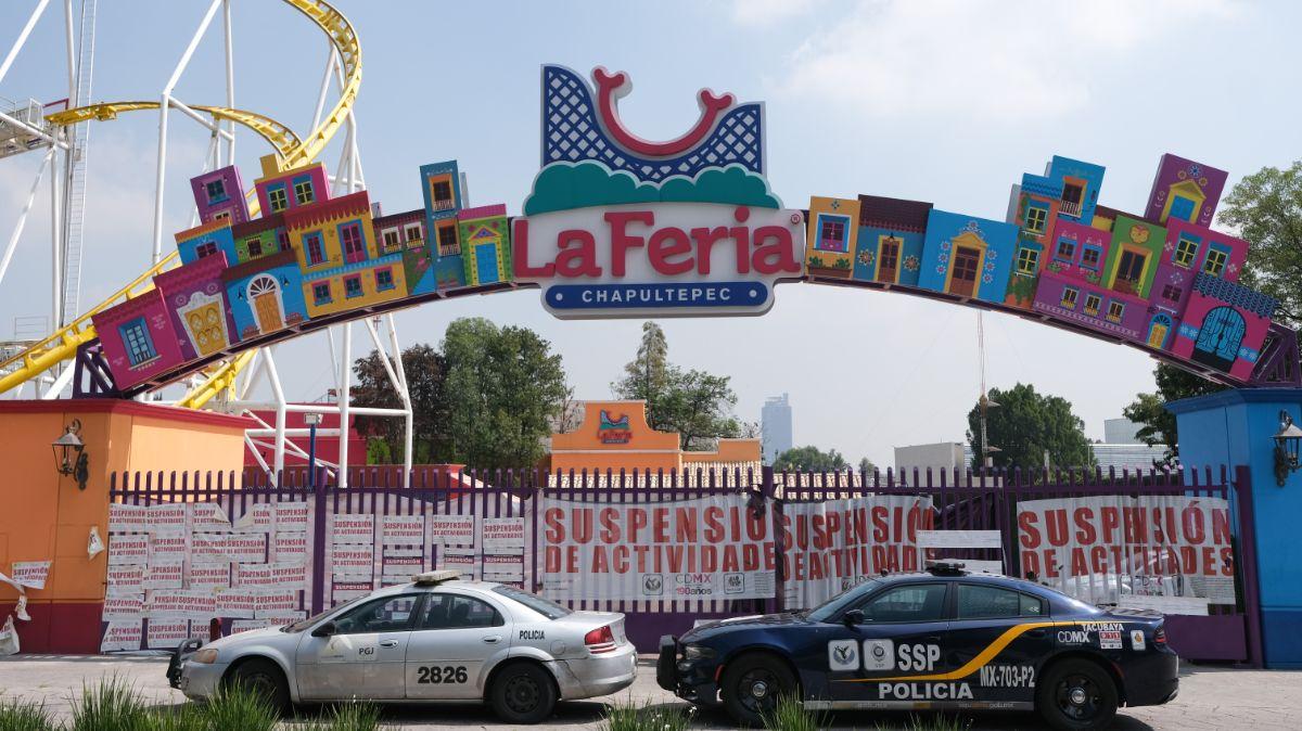 La Feria de Chapultepec termina operación