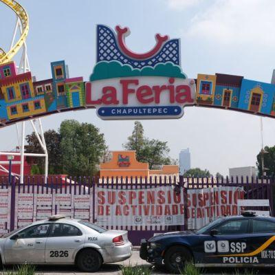Video: Imágenes exclusivas del deterioro en juego accidentado de La Feria de Chapultepec