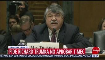 FOTO: Organización Trabajadores EEUU Pide No Acelerar Aprobación T-MEC