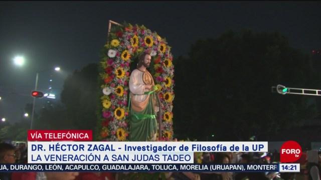 FOTO: La veneración a San Judas Tadeo, 28 octubre 2019