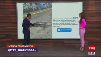 #LaCámaraUrbana en Expreso: Calles en mal estado