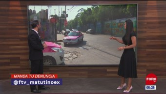 #LaCámaraUrbana en Expreso: Pavimento en mal estado