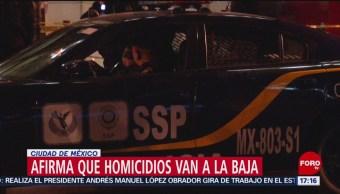 FOTO: cifras homicidios CDMX siguen siendo altas PGJCDMX,