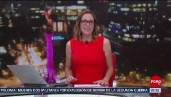 Foto: Las Noticias Ana Francisca Vega Programa Completo Forotv 8 Octubre 2019
