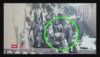 Foto: Operativo Tepito Liberados Sostienen Estaban Fiesta 25 Octubre 2019
