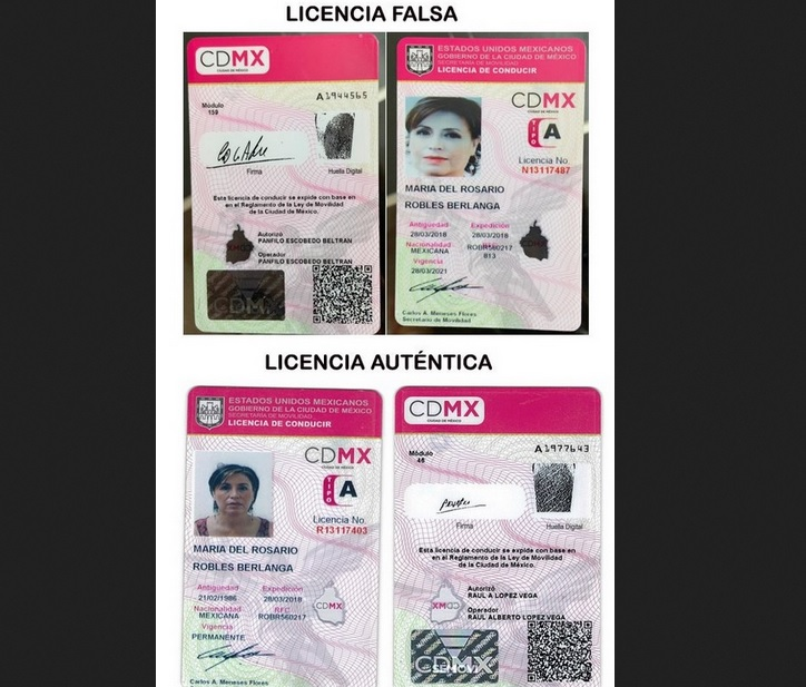 Licencias de Rosario Robles