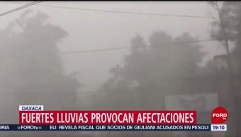 Foto: Lluvias Dejan Afectaciones Oaxaca 10 Octubre 2019