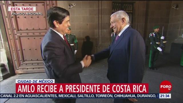 Foto: López Obrador Presidente Costa Rica 21 Octubre 2019