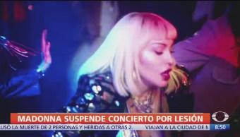 Madonna cancela shows por problemas de salud