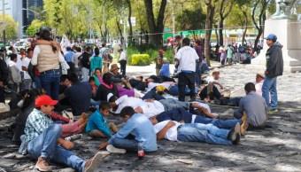 Foto: Se prevén varias movilizaciones sociales en la Ciudad de México, 31 octubre 2019