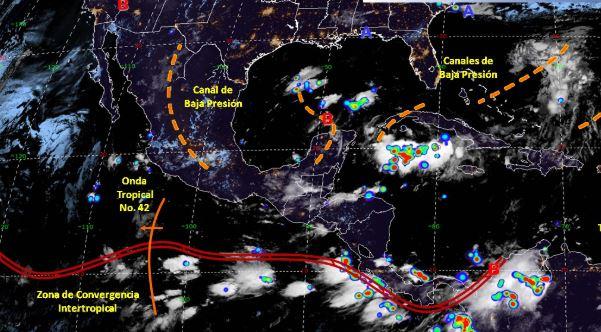 Foto: Imagen de fenómenos meteorológicos significativos de las 06:00 horas, 4 octubre 2019