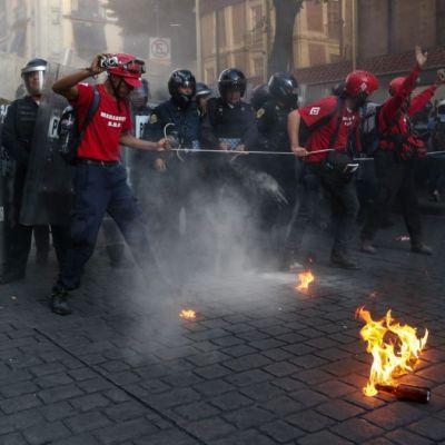 Presentan seis denuncias tras violencia durante marcha del 2 de octubre en CDMX