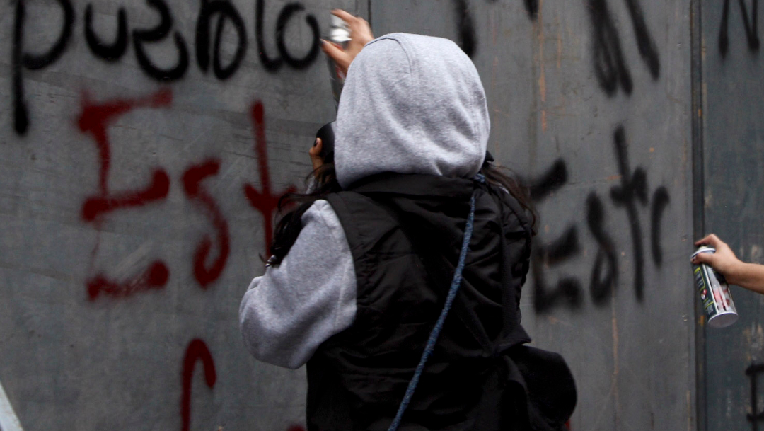 FOTO Si es necesario, habrá detenidos en marcha del 2 de octubre, dice Orta (Cuartoscuro archivo marcha 2018/Adriana Álvarez)